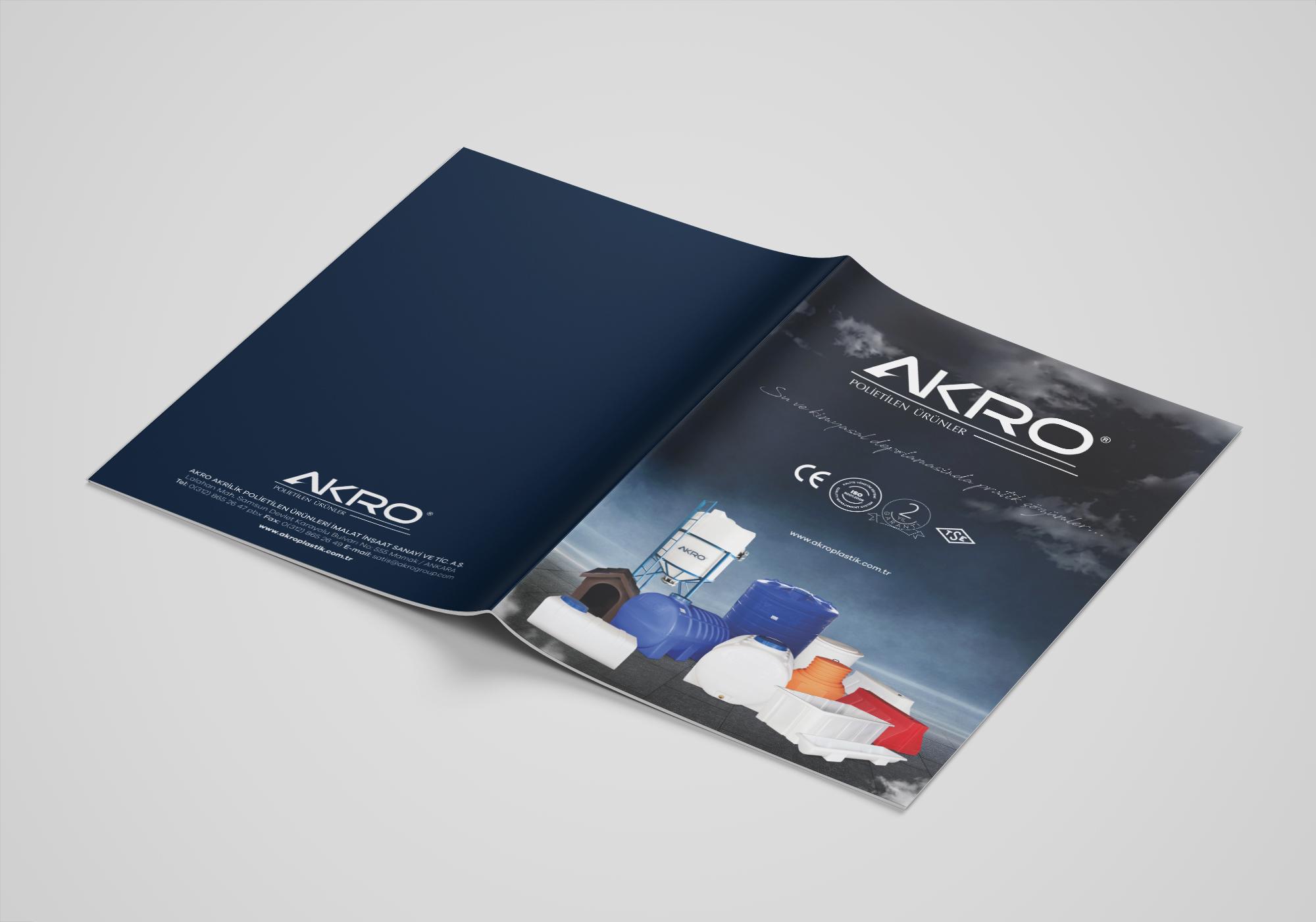 Ankara kurumsal kimlik tasarımı  Akro