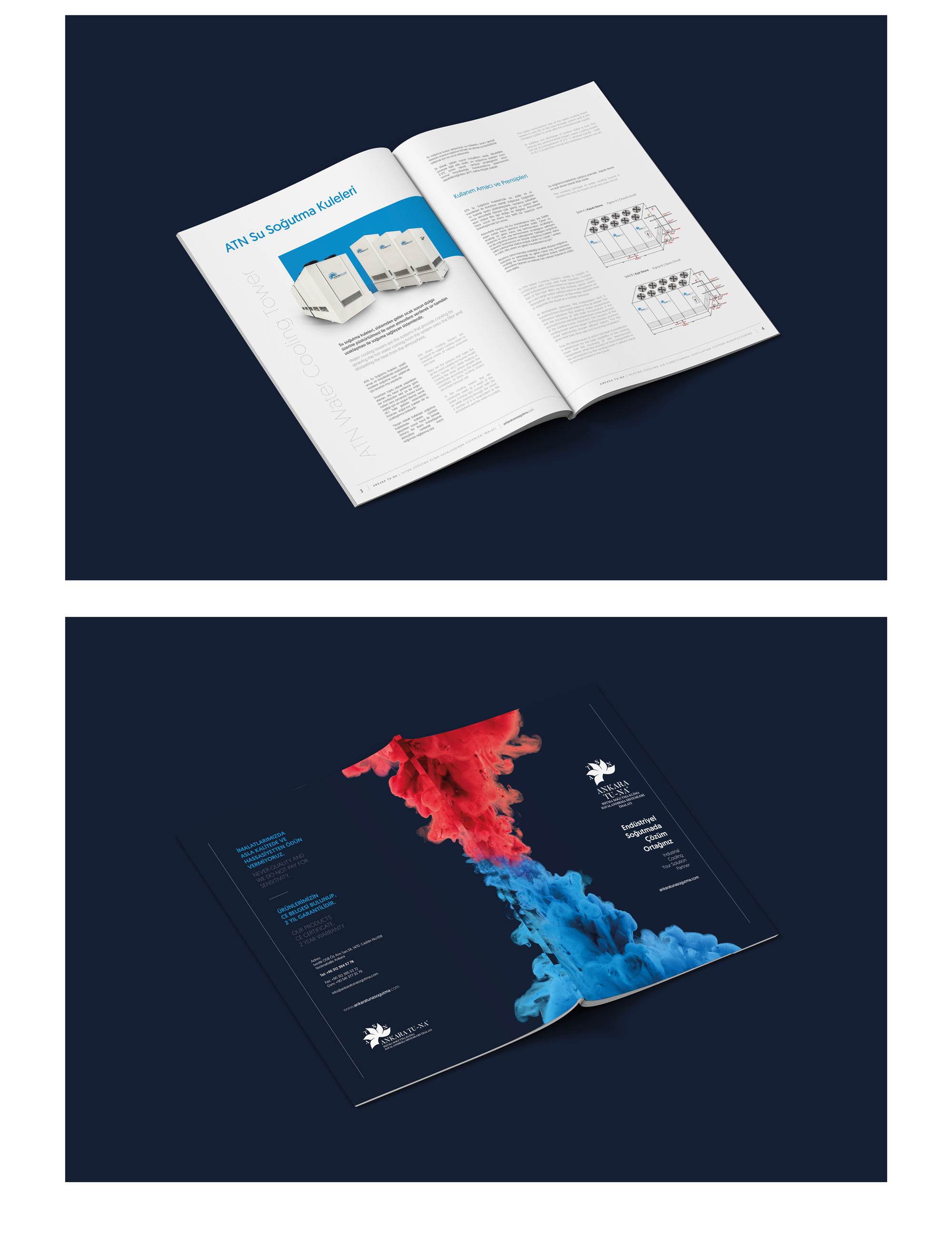 Ankara kurumsal kimlik tasarımı  Ankara Tuna Soğutma