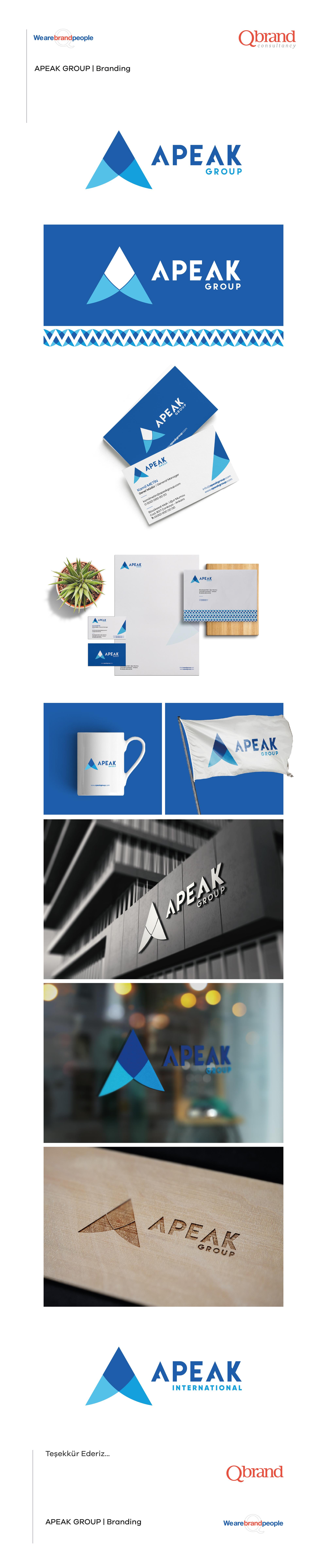 Ankara kurumsal kimlik tasarımı  Apeak