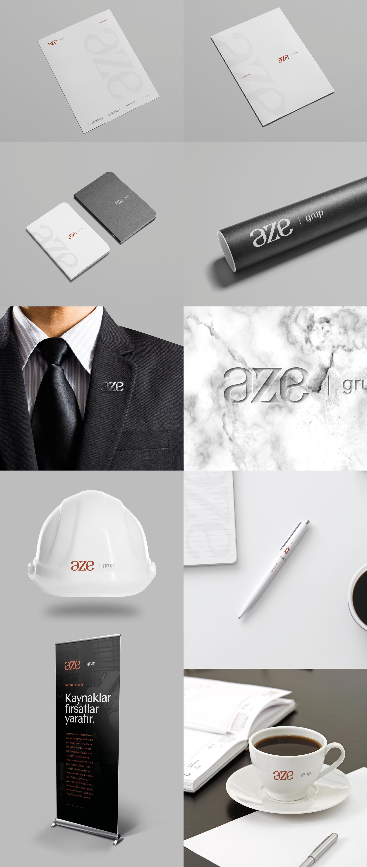 Ankara kurumsal kimlik tasarımı  Aze Grup