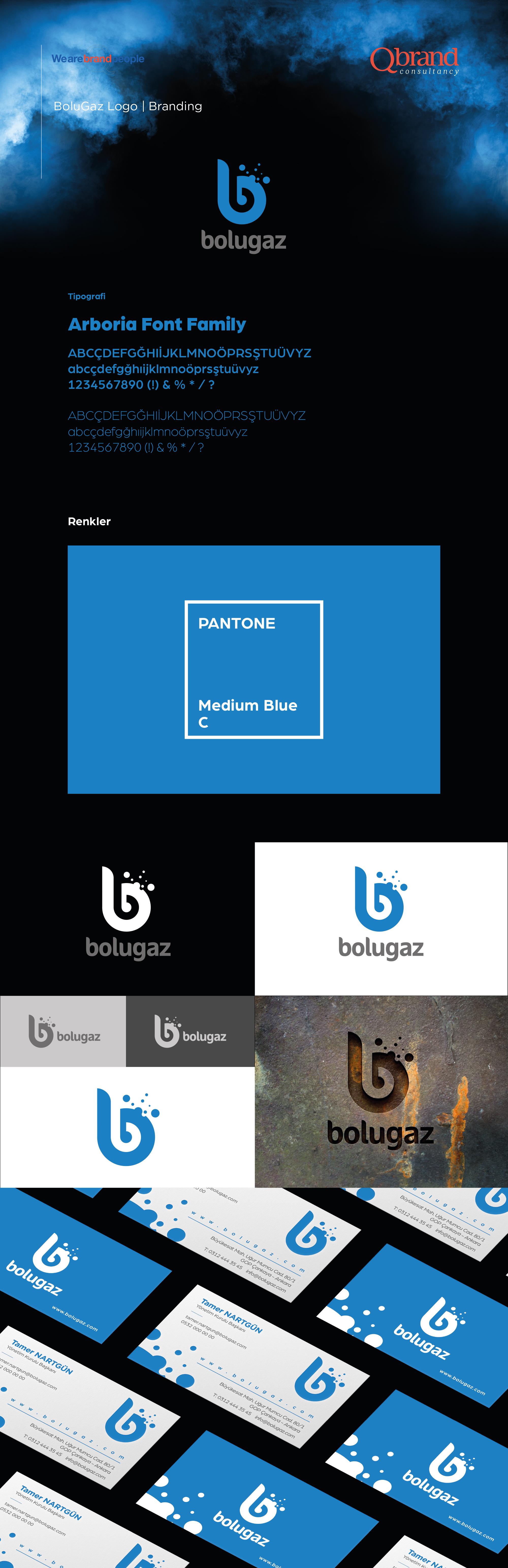 Ankara kurumsal kimlik tasarımı  Bolugaz