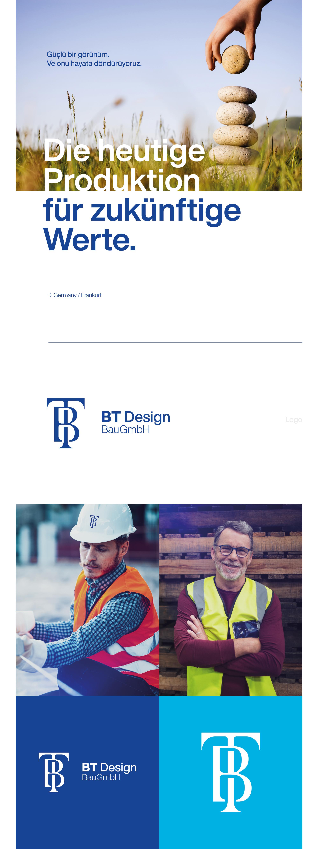 Ankara kurumsal kimlik tasarımı  BT Design BauGmbH