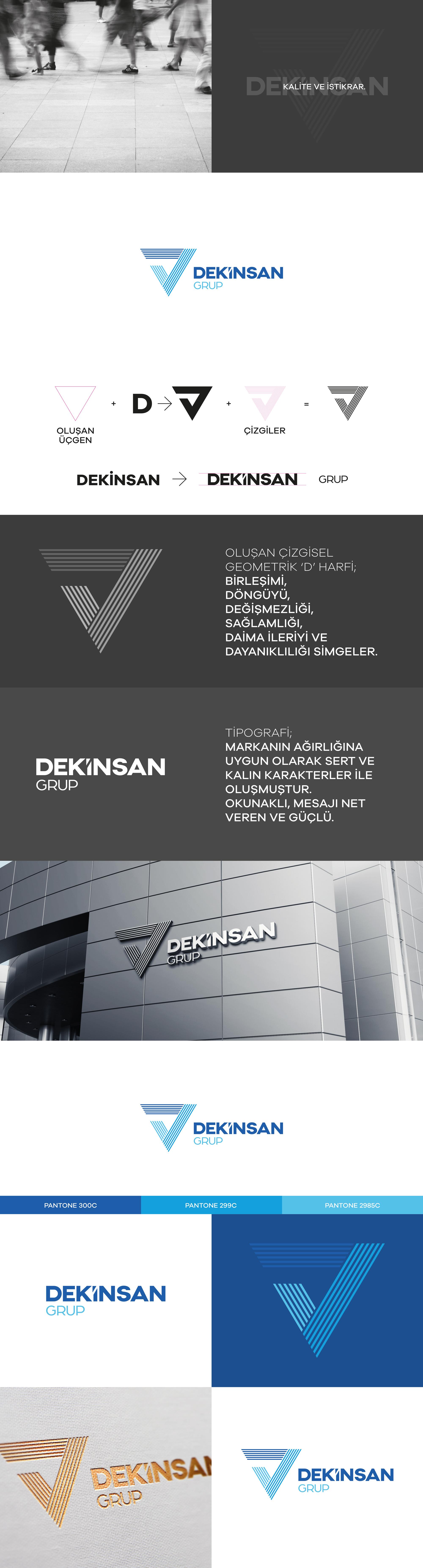 Ankara kurumsal kimlik tasarımı  Dekinsan