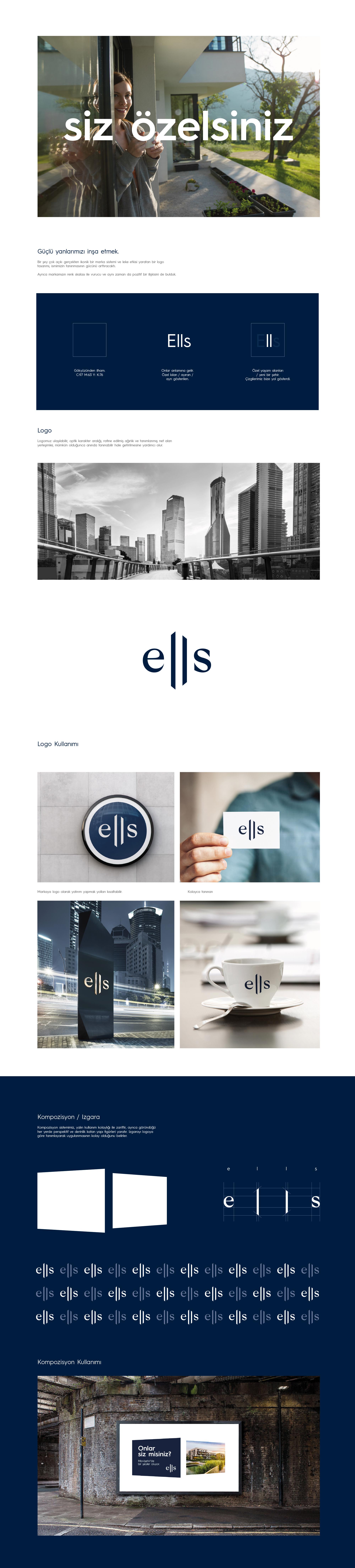 Ankara kurumsal kimlik tasarımı  Ells
