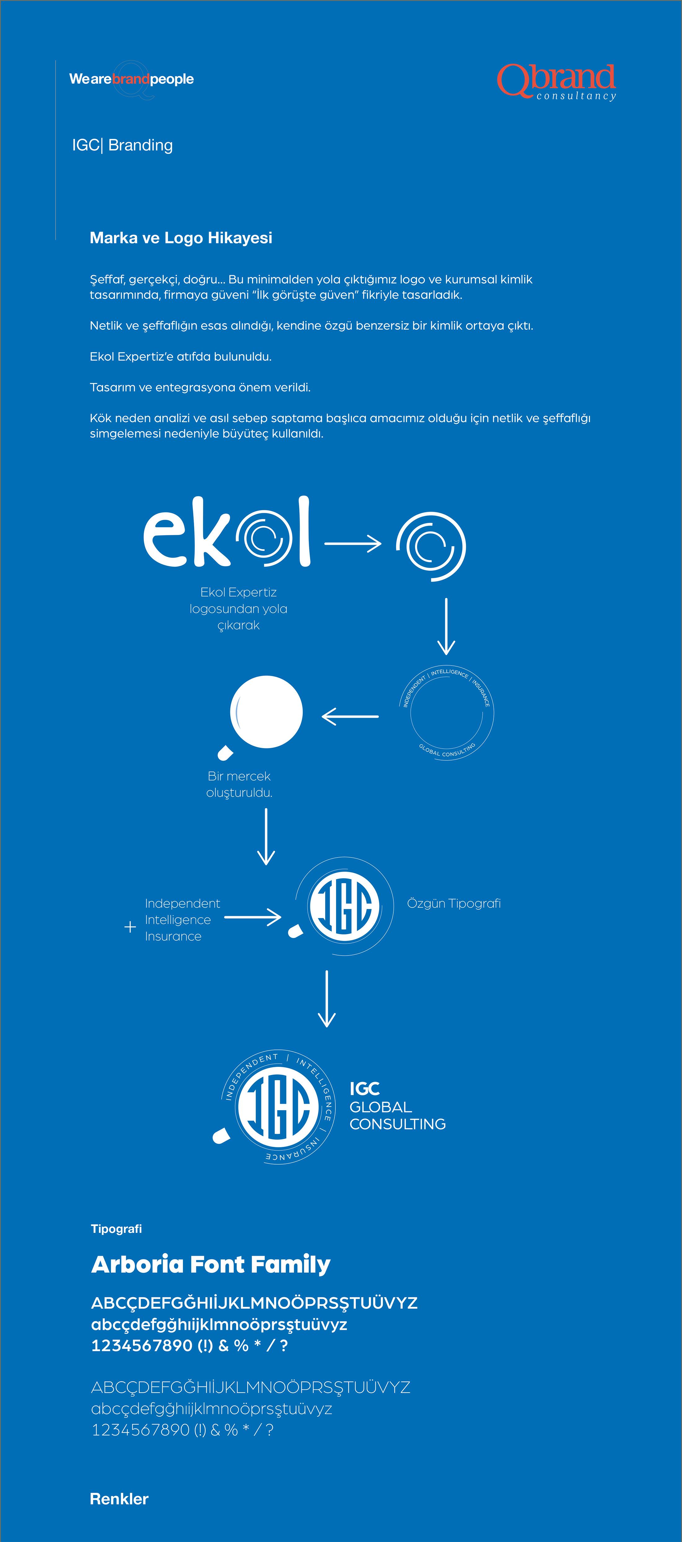 Ankara kurumsal kimlik tasarımı  IGC Global Consulting