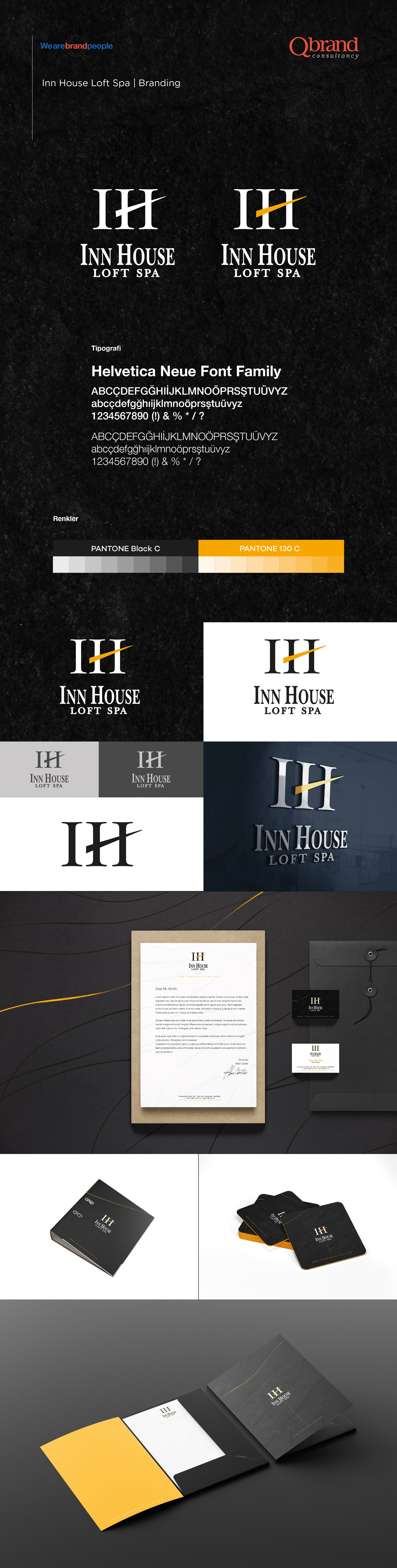 Ankara kurumsal kimlik tasarımı  İnn House Loft Spa