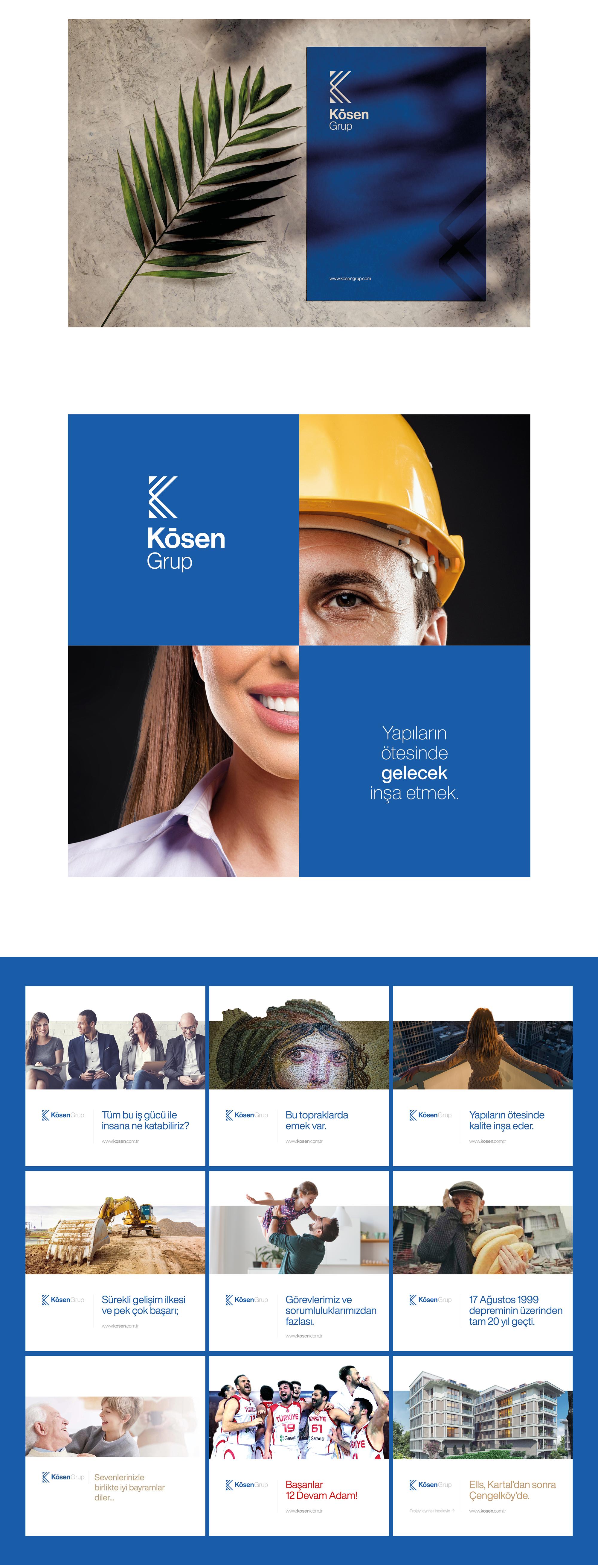 Ankara kurumsal kimlik tasarımı  Kösen Grup