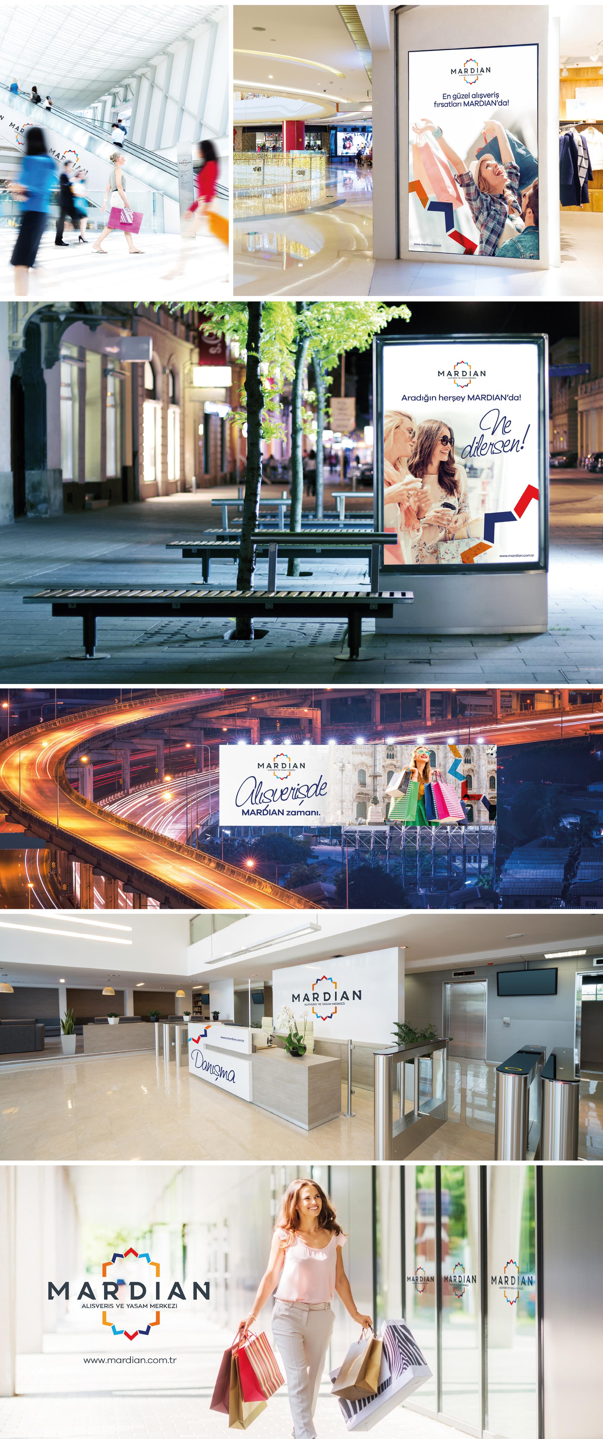 Ankara kurumsal kimlik tasarımı  Mardian Mall