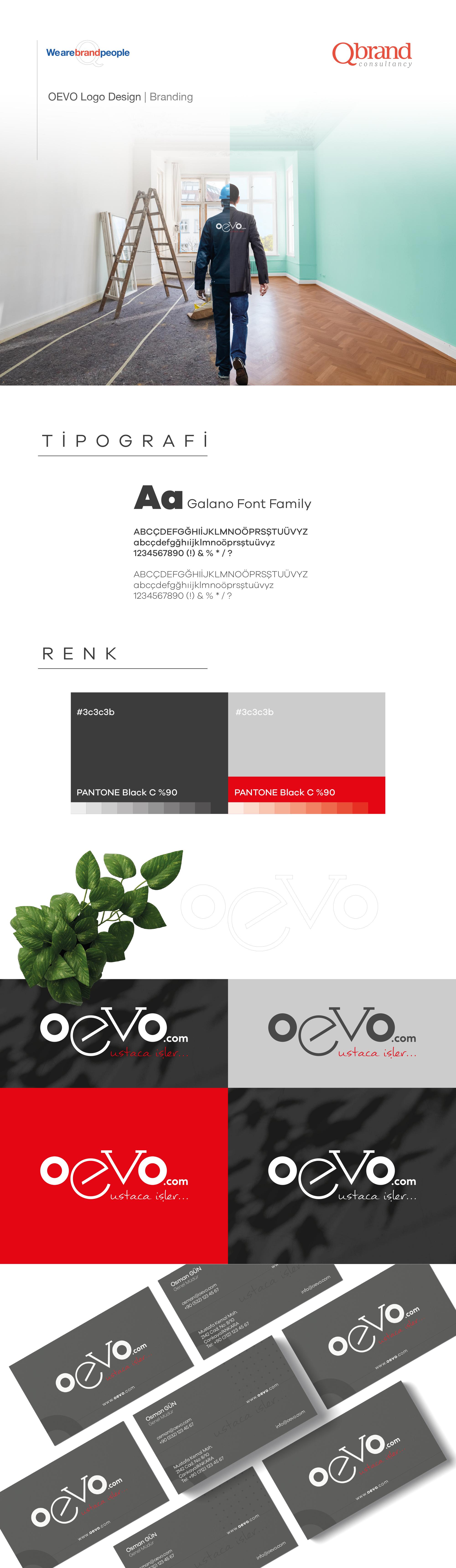 Ankara kurumsal kimlik tasarımı  Oevo