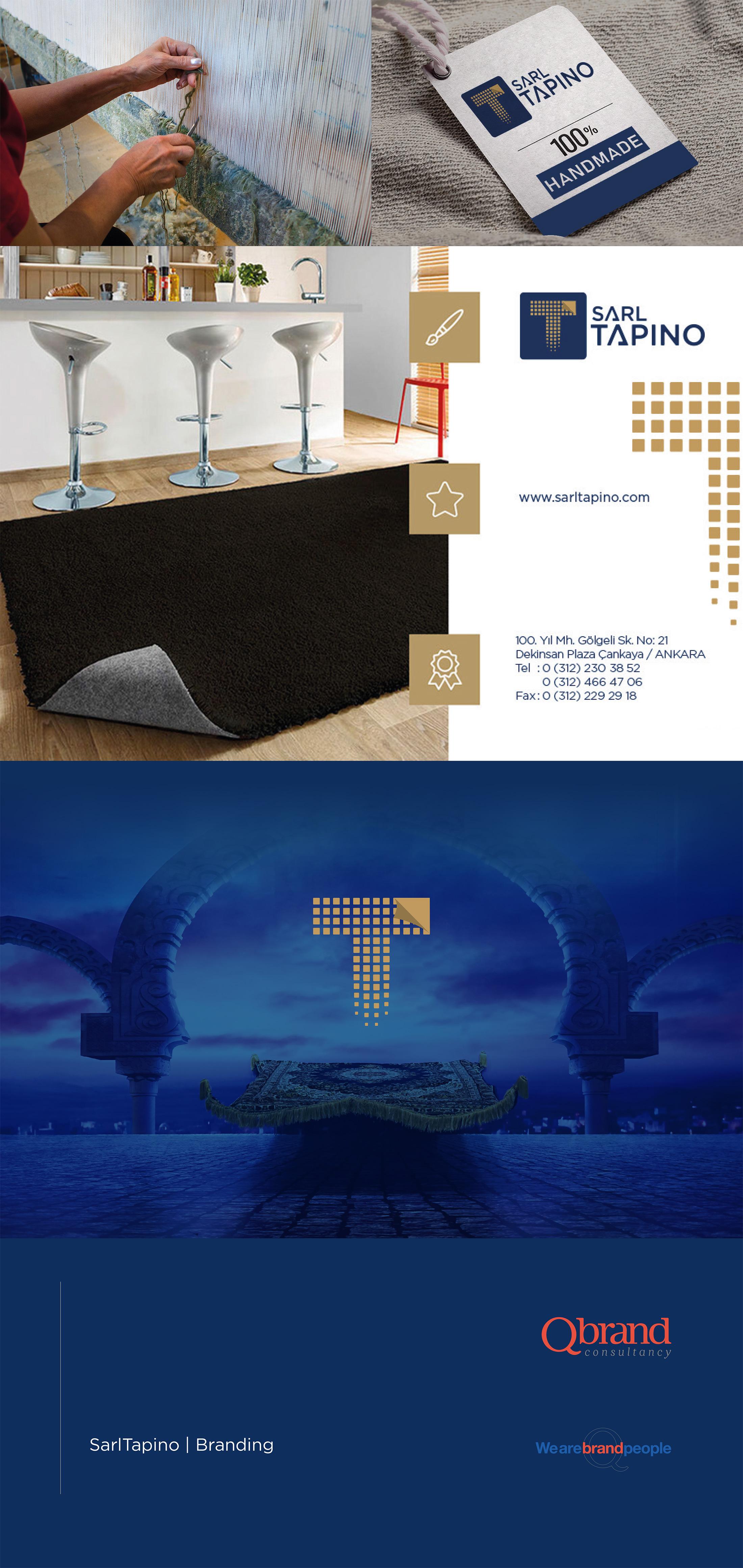 Ankara kurumsal kimlik tasarımı  Sarl Tapino